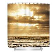Light Of Dusk Shower Curtain
