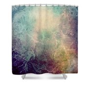 Light Of Life Abstract Painting Shower Curtain