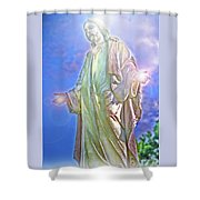 Light Of Life Shower Curtain