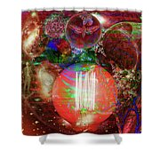 Light Of Man Multidimentional Sight Shower Curtain