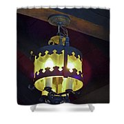 Light Of Our Lady Of Le Leche Shower Curtain