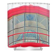 Light Of The Lighthouse Shower Curtain