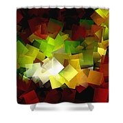 Light On The End Of Darkness Shower Curtain