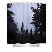 Light On The Stones Shower Curtain