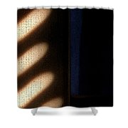 Light Rays Shower Curtain