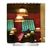 Light Reflection Nyc Canopy  Shower Curtain