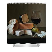 Light Repast Shower Curtain