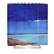 Light Sail Shower Curtain