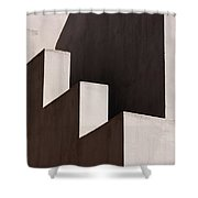 Light Shadow Lines Architecture Shower Curtain