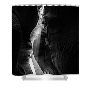 Light Shaft In Lower Antelope Canyon Shower Curtain