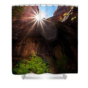 Light Shine Down Shower Curtain