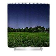 Light Show - Fireflies Vs The Stars Shower Curtain