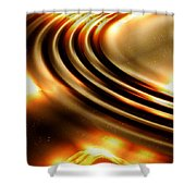 Light Show Shower Curtain