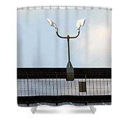 Light Stand Shower Curtain