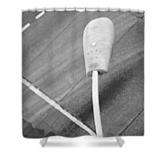 Light The Above  Shower Curtain