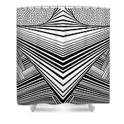 Light United Shower Curtain