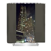 Light Up The City Shower Curtain
