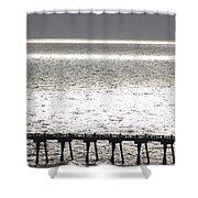 Light Wash II Shower Curtain