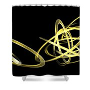 Light Yellow Shower Curtain