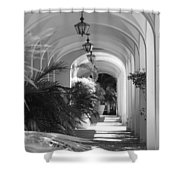 Lighted Arches Shower Curtain