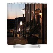 Lighted Walkway Shower Curtain