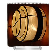 Lighted Wall  Shower Curtain