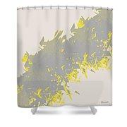 Lightening 2  Shower Curtain