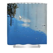 Lighter Than Air Shower Curtain