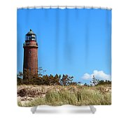 Lighthaus Darss Shower Curtain