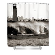 Lighthouse 1 Shower Curtain