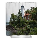 Lighthouse 4 Shower Curtain