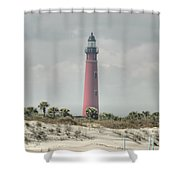 Lighthouse At Ponce Inlet Shower Curtain
