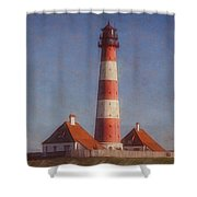 Lighthouse - Id 16217-152035-5938 Shower Curtain