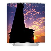 Lighthouse Lovers Shower Curtain