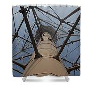 Lighthouse Marblehead Shower Curtain