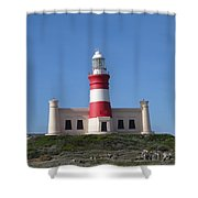 Lighthouse Of Agulhas Shower Curtain