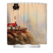 Lighthouse Point Shower Curtain