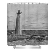 Lighthouse Point Shower Curtain