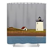Lighthouse Provincetown 3 Shower Curtain