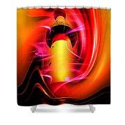 Lighthouse Romance 3 Shower Curtain