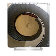 Cabrillo Spiral Staircase Shower Curtain