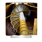 Lighthouse Stairway Shower Curtain