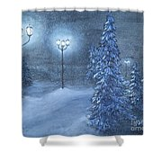 Lighting The Way Home 3  Shower Curtain