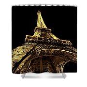 Lighting The World Of Paris Shower Curtain