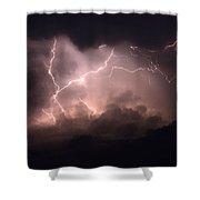 Lightning 2 Shower Curtain