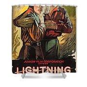 Lightning Bryce 1919 Shower Curtain