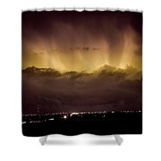 Lightning Cloud Burst Boulder County Colorado Im29 Shower Curtain