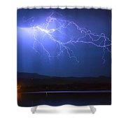 Lightning From Heaven Shower Curtain