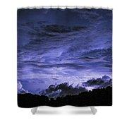 Lightning Over Pohnpei Shower Curtain