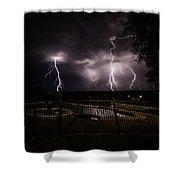Lightning Strikes Shower Curtain